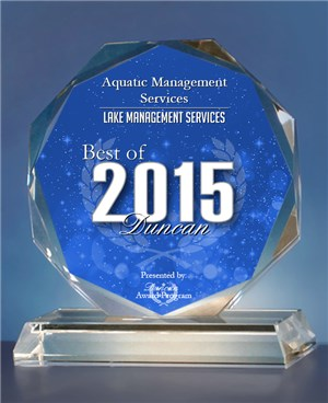 Voted best Lake Management company in 2015!